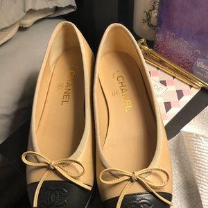 Authentic Chanel Ballet Flats